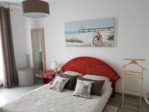 chambre parentale bord de mer karine décoration