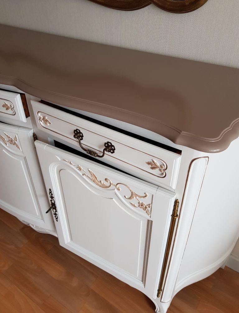 meuble merisier relooké karine décoration