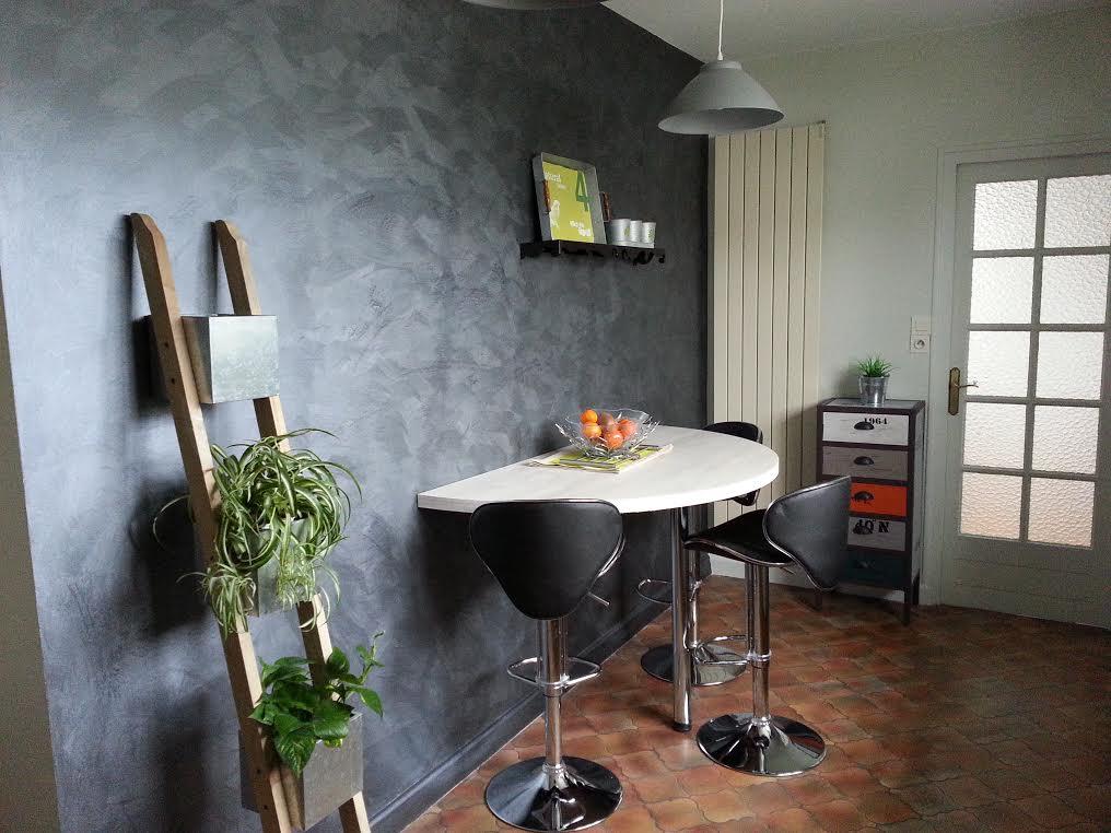 cuisine industrielle karine décoration