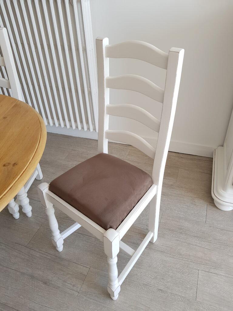 chaise relookée karine décoration