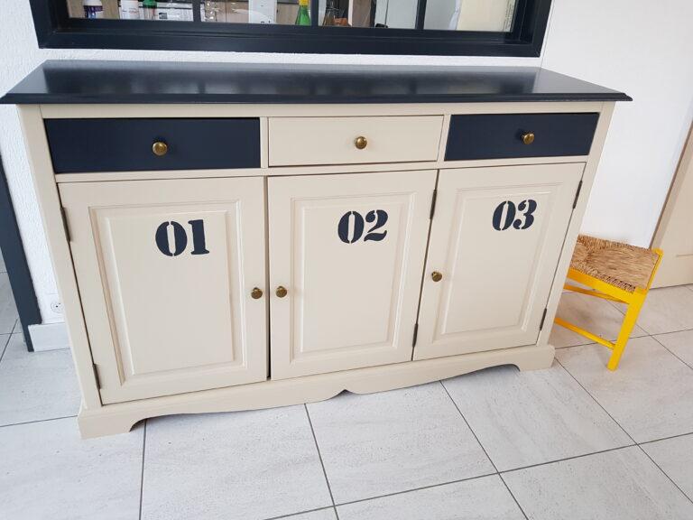 meuble relookée style industriel st nazaire karine décoration
