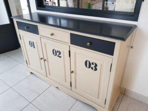 meuble relooké style industriel st nazaire karine décoration