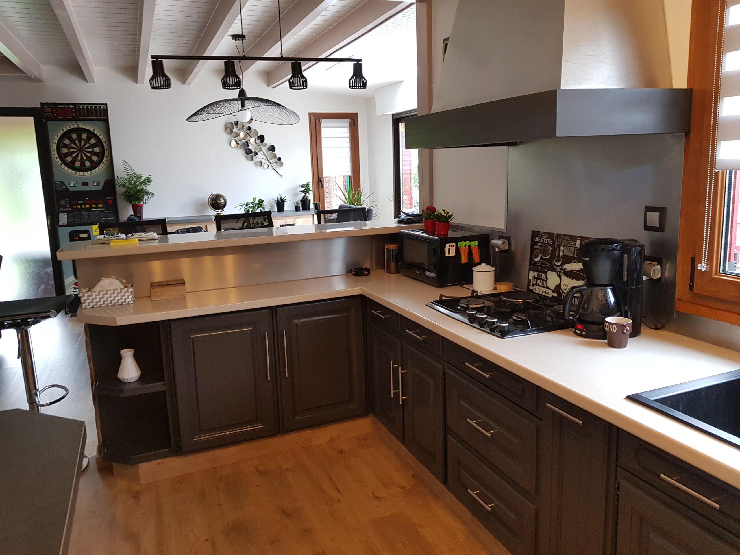 meuble cuisine relooké st nazaire karine décoration